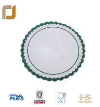 restaurant / hotel disposable round paper drinking coaster for promoting recycle activities
