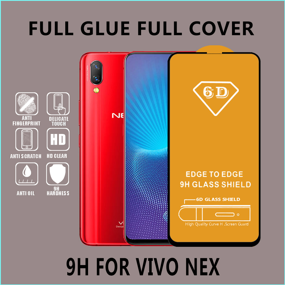 6D wholesale Mobile Touch screen protector tempered glass for ViVO All Models