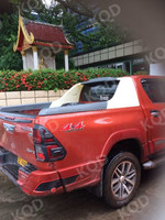 New arrival toyota hilux revo easy installation abs plastic roll bar