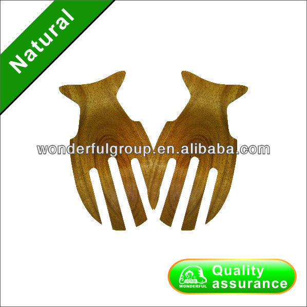 durable and new design acacia salad hand