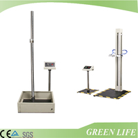 Desktop type small 2 or 4 stations mobile phone drop test equipment