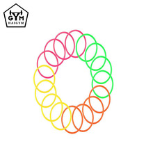 Multi-color Fitness Plastic Children Fun Hoops Gymnastic Soft Electric Hula Hoop