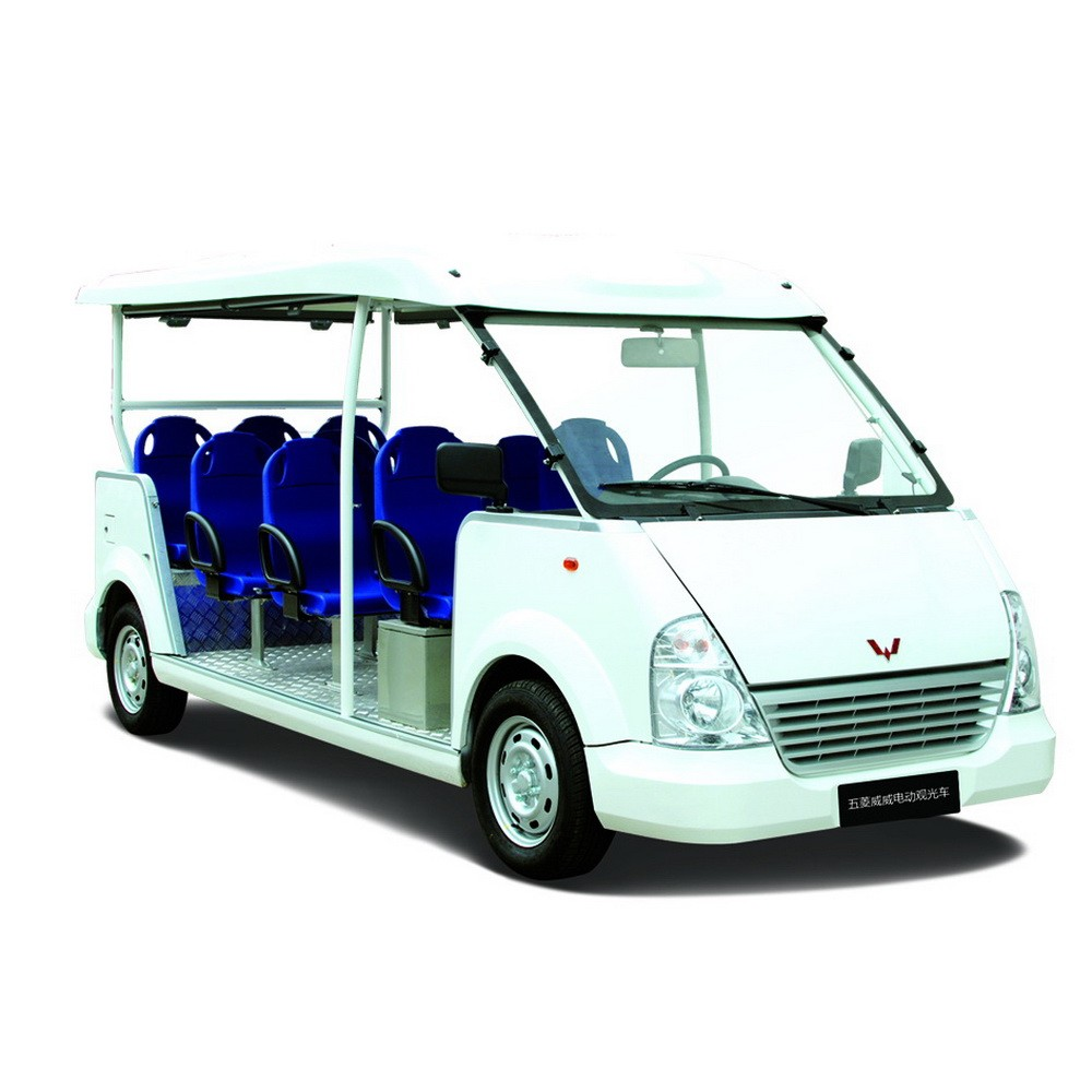 cheap smooth shape customized China Made 11 seater electric LSV
