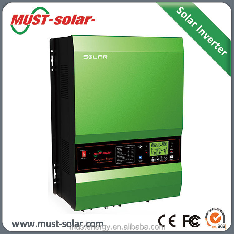 PV3500 10kw 60A or 120A MPPT Charger Pure Sine Wave Off Grid DC to AC Solar Inverter