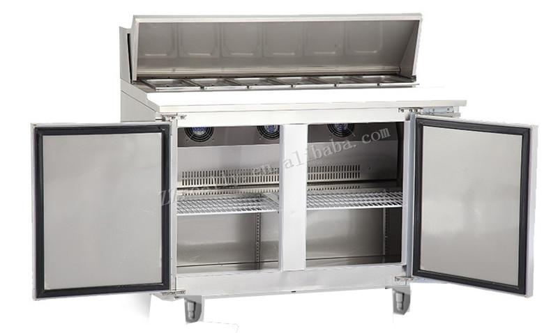 Hotel Restaurant Equipment Sandwich Prep Table Intelligent Control - Sandwich prep table for sale