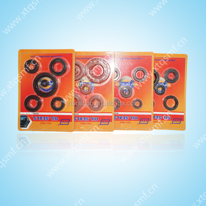 China manufacturer NBR CD70 motorcycle oil seal kit