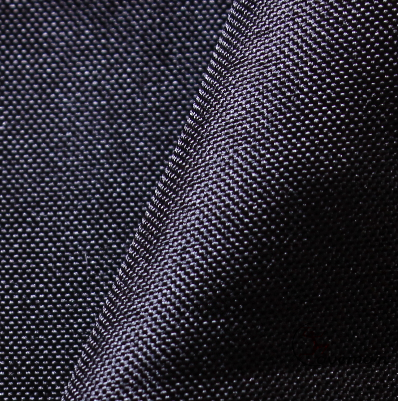 Black Dyed 170T Polyester Pongee Lining Fabric for bags sofa and garment
