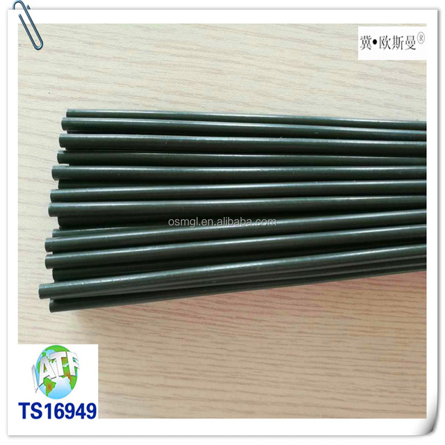 Alibaba free shipping worldwide 4.76*0.7 PVF coating double wall steel tube for car parts