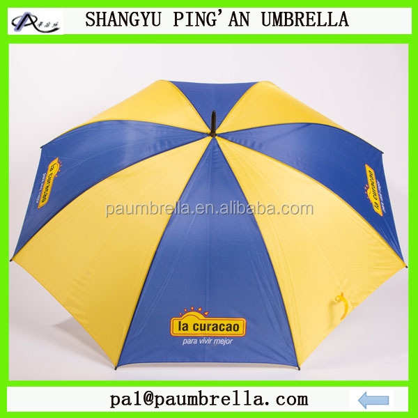 2015 hot sale golf umbrella 68 custo for promotion