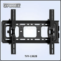 TV Wall Mount Bracket for 30-63 inch LED, LCD and Plasma Flat Screen TVs Up To 110lbs