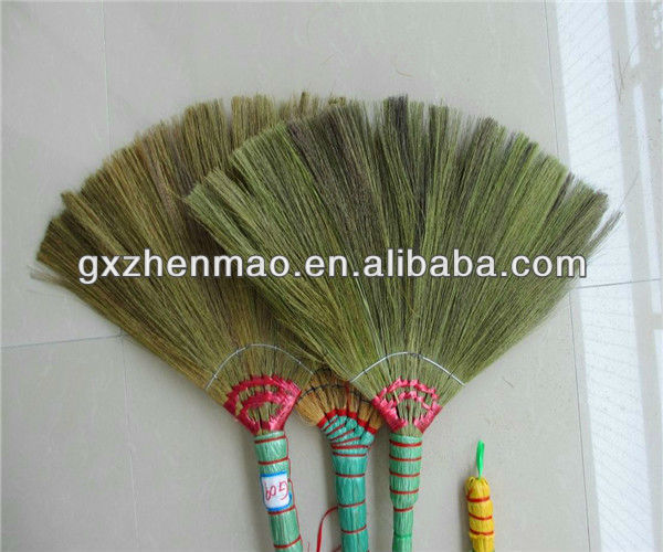 Soft Household Floor Grass Broom Head