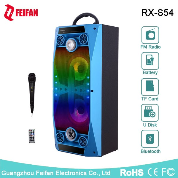 Top Sale 5.0 Inch Portable Bluetooth Speaker With Fm Radio RX-S54