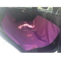 Auto Interior Cover Designed for Pets Waterproof Polyester Oxford with PVC Car Seat Cover