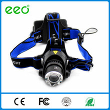 high power headlamp XM-L T6 LED HEADLIGHT HEAD LIGHT LAMP ZOOMABLE 500LM 2 X BATTERY + CHARGER