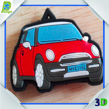 Custom Colorful Christmas Souvenir 3d Rubber Fridge Magnet For Sale