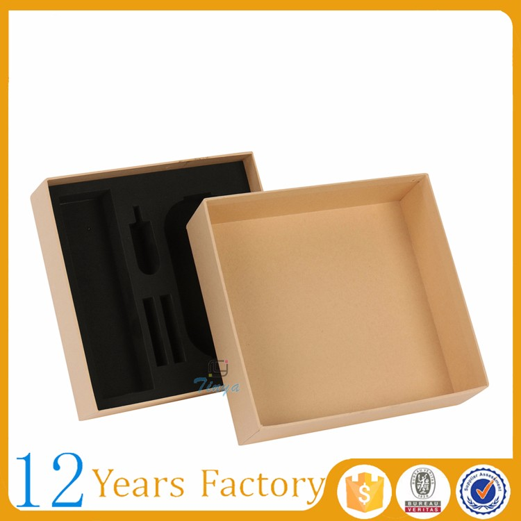 custom brown kraft electronic packing box for phone