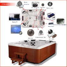 2016 Factory outdoor massage spa free sex usa hot tub for 6 Person family party Use