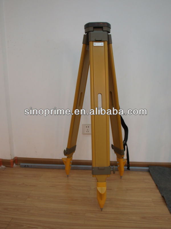 land surveying:Wooden suvey tripod for Leica total station