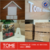 pvc co-extrude foam board, building roofing material, 8mm board