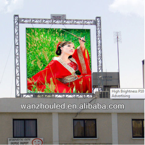 screen outdoor led display
