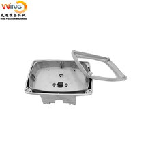 aluminium die casting service wash wall light housing