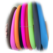 Hot warm flexible 14 inch silicone car steering wheel cover