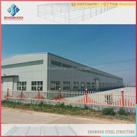 prefabricated light steel structure building, prefab warehouse