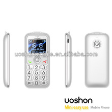 GSM Long Standby Mobile Phone for older,1.8 inch Bar Cell Phone for elder