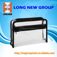 E Good quality clear vinyl pvc zipper blanket bags bag