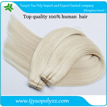 wholesale factory price weft pu glue virgin 30 inch remy tape hair extensions Top quality pu skin weft