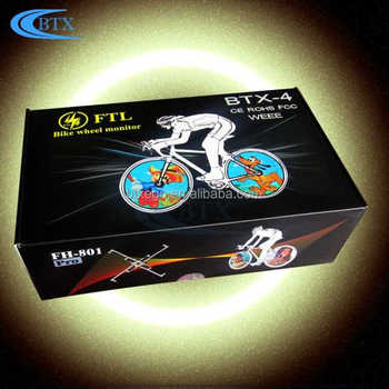 Rechargeable bicycle DIY Programmable LED Bike Wheel Light led bike light