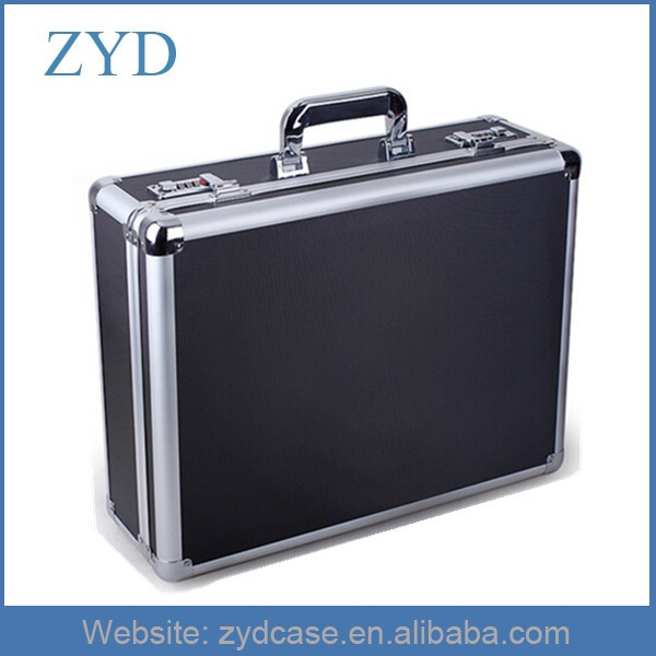 Aluminum Black Computer Briefcase 20 Inch Laptop Casing ZYD-LX91601