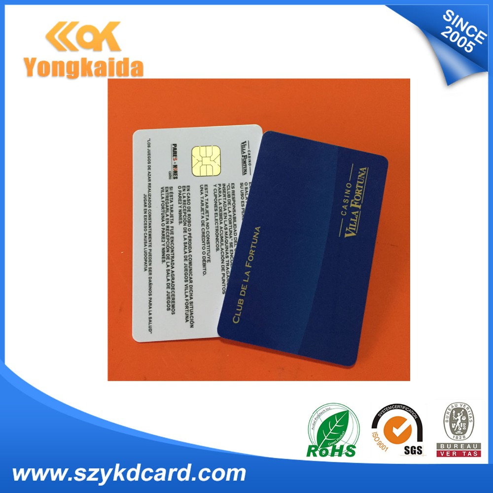 125khz fashion design black magnetic stripe smart card key for access machine
