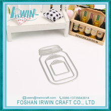 Bottle new design embellishment paper craft diy cutting dies