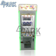 Kids coin operated arcade key master game vending machine