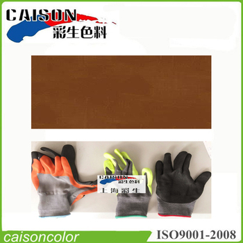 Brown printing and dyeing for insulation gloves