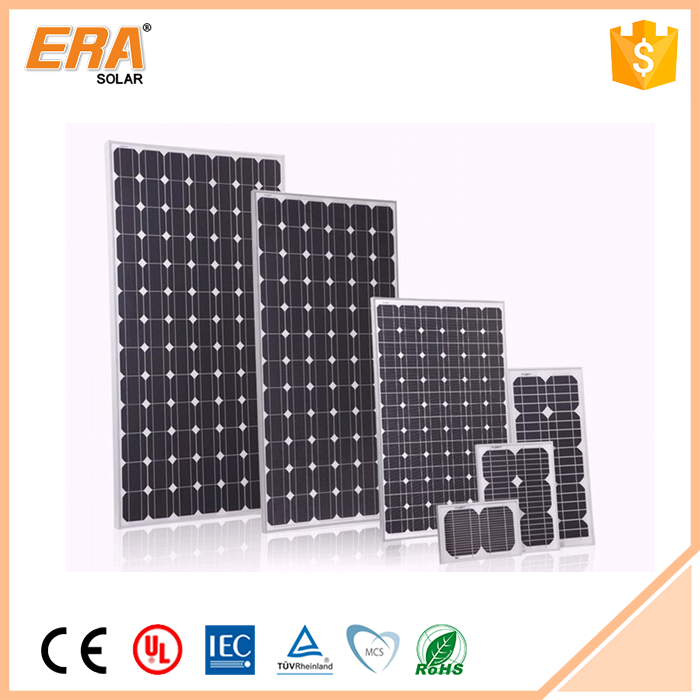 Wholesale high efficiency solar power 210 watt solar panel