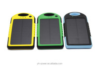 rechargeable plastic portable solar power bank battery making for smartphone