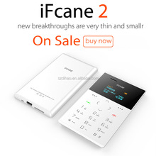 DIHAO Hot Sale 1 Inch Screen Card Size IFcane E2 Very Small Size Cute Mobile Phone