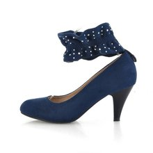2012 hottest latest design lady low heels ho526-5
