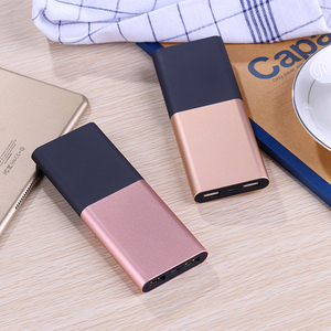 Manufacturer universal portable 6000mah power bank with li-polymer battery FCC,CE ,ROHS