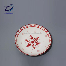 Christmas Porcelain Ceramic Sauce Dipping Dishes Small Sauce Bowl Side Dish Plate Canape Plate