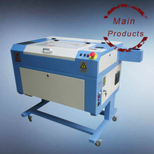 water cooled laser machine lazer engraver / woodworking small size desktop laser cutter 50w 60w