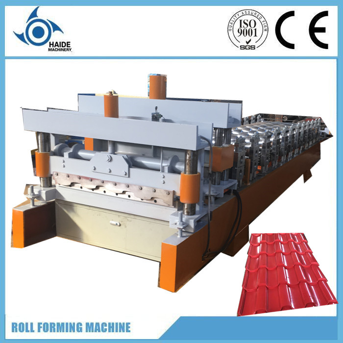 Good price! 2017 Hot sale glazed step tile roll forming machine