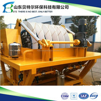 Small Ceramic Disc Filter used In Mineral Water Dewatering, vacuum type