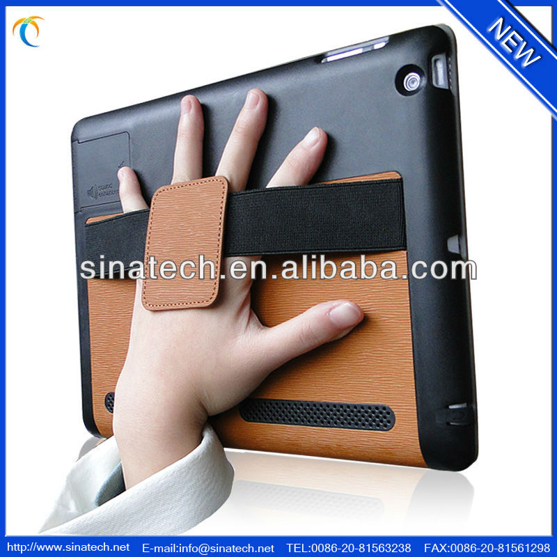 Smart design leather case for new ipad cover