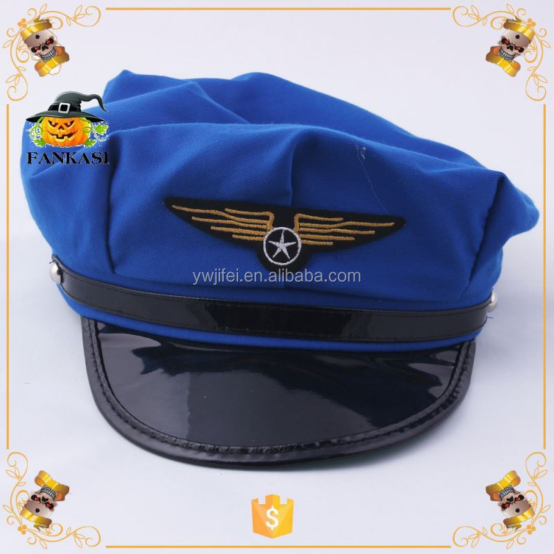 Kids Airline Aviator Pilot Hats for Carnival Party