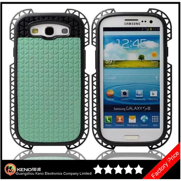 Keno High Quality Soft Rubber Cover For Samsung Galaxy S3 i9300 Silicon Case