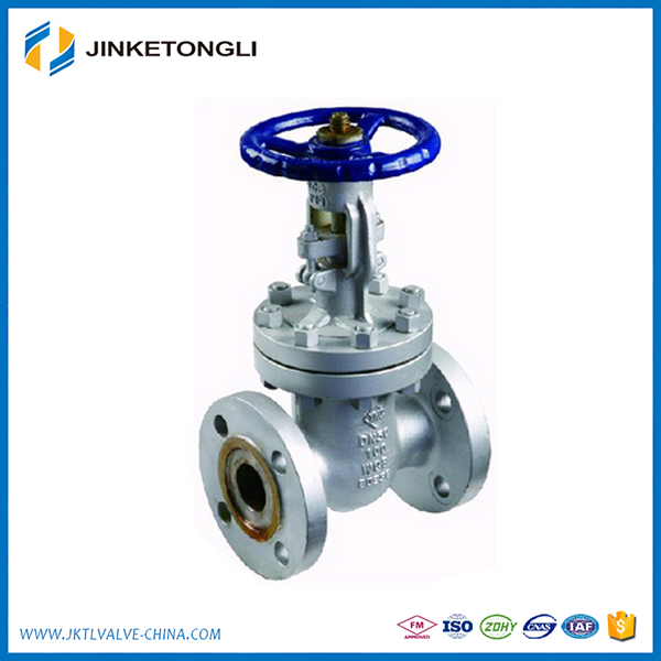 Zero Leakage Handwheel Operated Carbon Steel Gate Valve DN300 for Fire Fighting