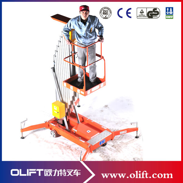 electric mobile elevating work platform (with CE Chna)